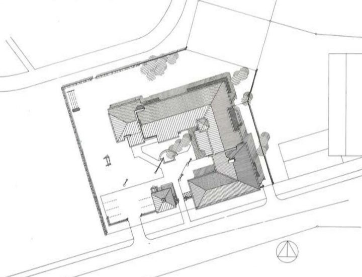 Site plan, Oulu Mother and Child Home