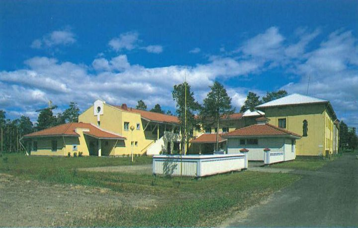 Southwest view, Oulu Mother and Child Home