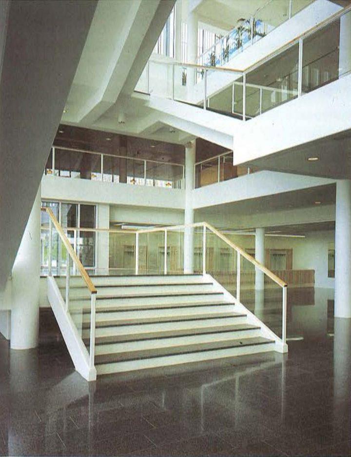 Entrance lobby, Imatra Cultural Centre