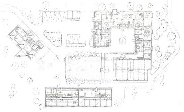 Floor plan, Children's Home