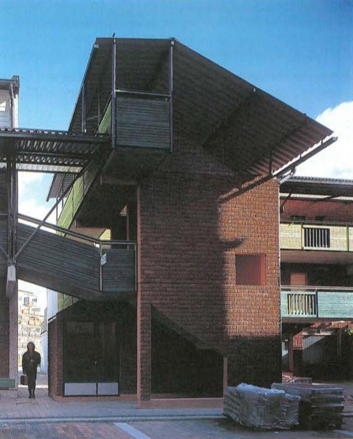 Stairway tower, Malminkartano Housing Complex
