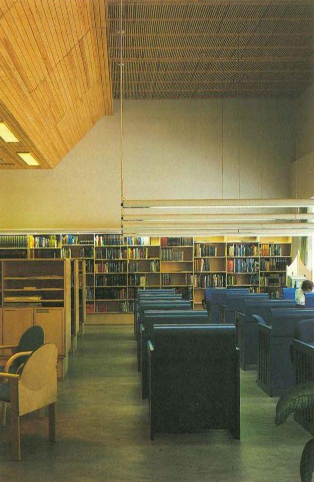 Reading room, Riihimäki City Library