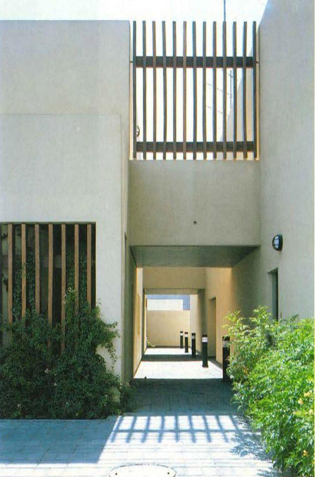 Service wing corridor, Saudi Arabia Embassy of Finland