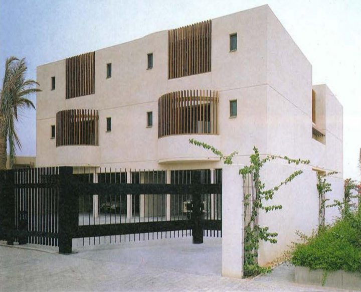 Office personnel's apartment building, Saudi Arabia Embassy of Finland