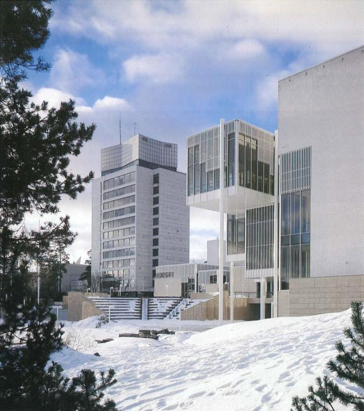 Northeast view, Espoo Cultural Centre