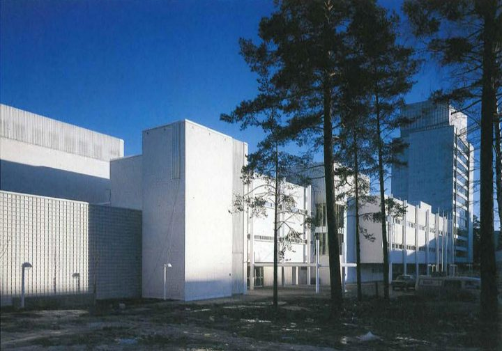 East elevation, Espoo Cultural Centre