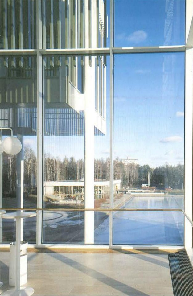 View from the main lobby, Espoo Cultural Centre