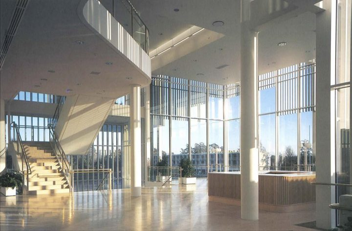 Main lobby, Espoo Cultural Centre