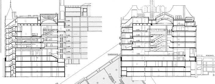 Section plan, Argos House