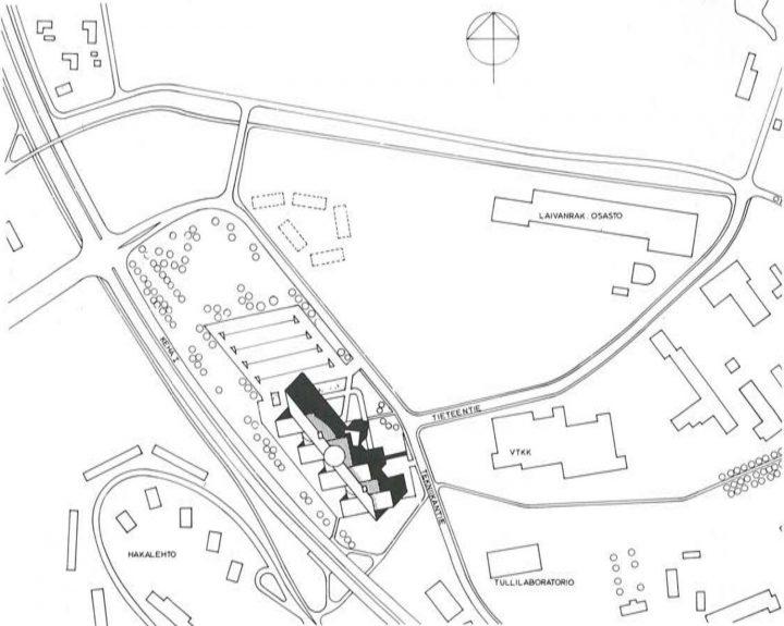 Site plan, Innopoli 1