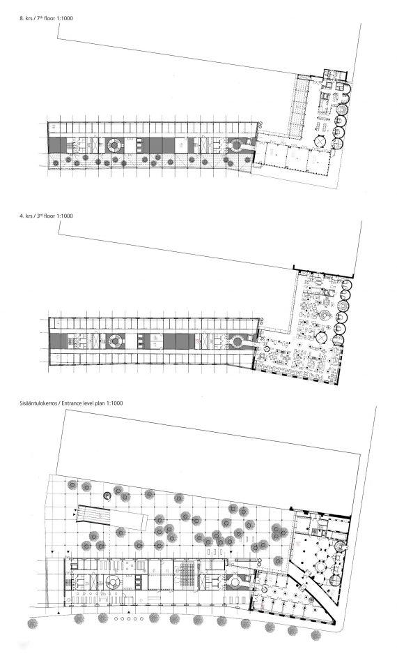 Floor plans, STAKES and Senaatti Properties