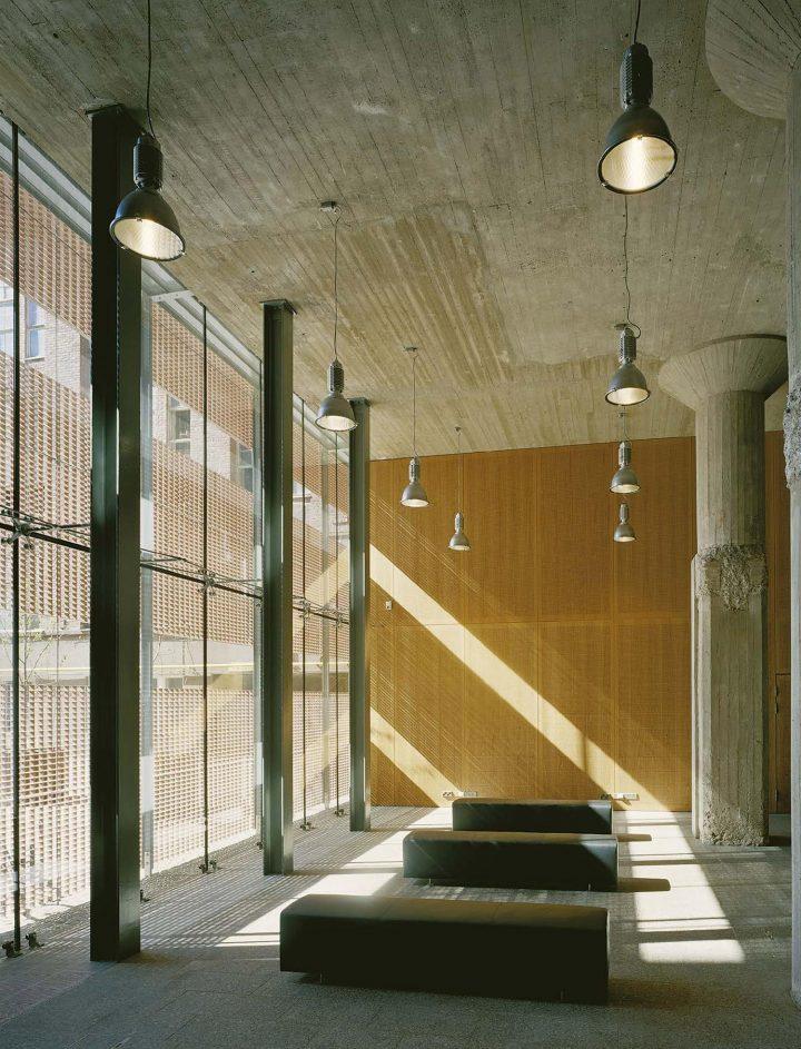 Entrance hall of Senaatti Properties premises, STAKES and Senaatti Properties