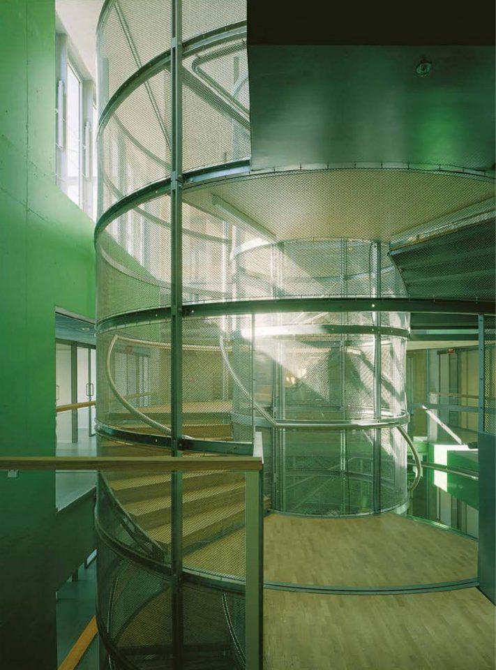 Main stairs of STAKES premises, STAKES and Senaatti Properties