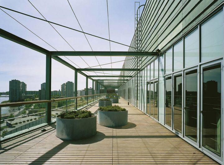 Roof terrace, STAKES and Senaatti Properties