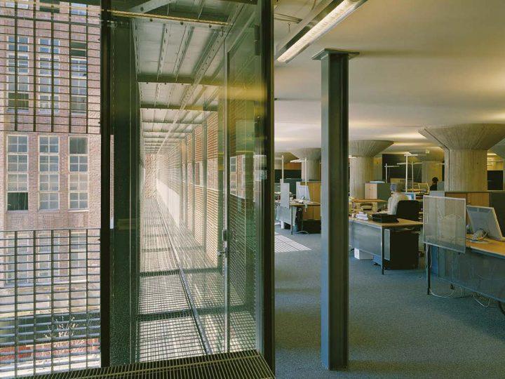 Office interior, STAKES and Senaatti Properties