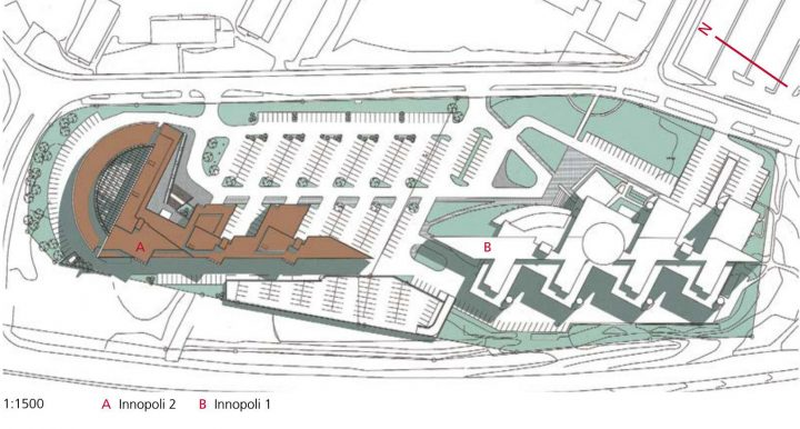 Site plan, Innopoli 2