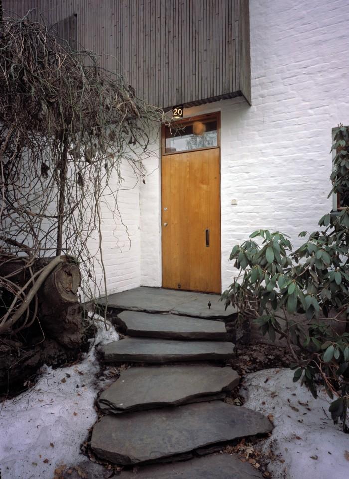Main entrance, The Aalto House