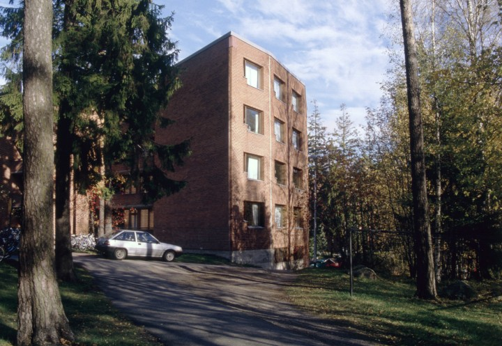 South end of the building, Aalto University Student Dormitory