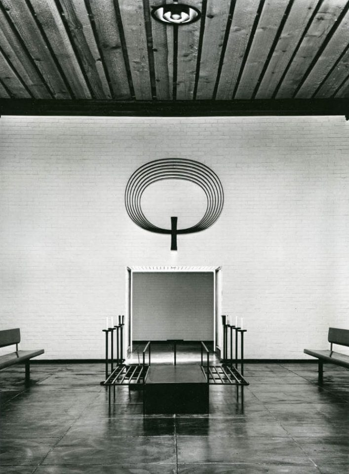 Interior , Espoo Funerary Chapel
