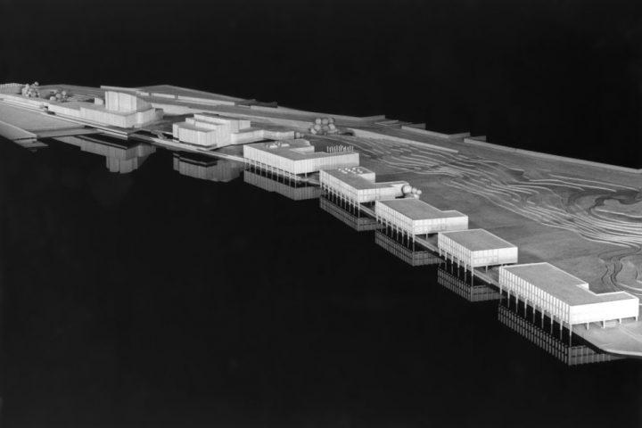 Centre plan model, Finlandia Hall