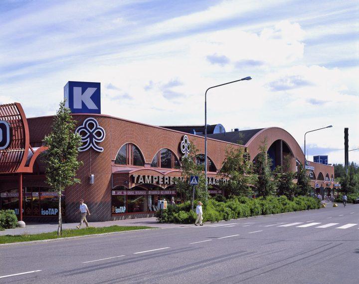 Shopping centre, Hervanta Central Axis