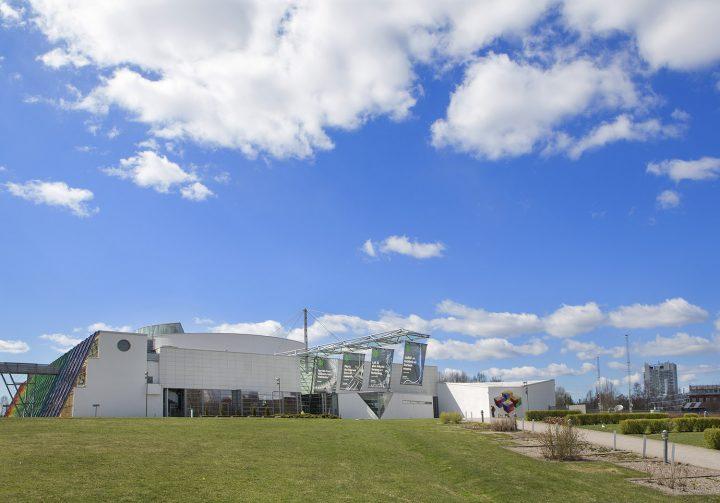 Entrance side, Finnish Science Centre Heureka