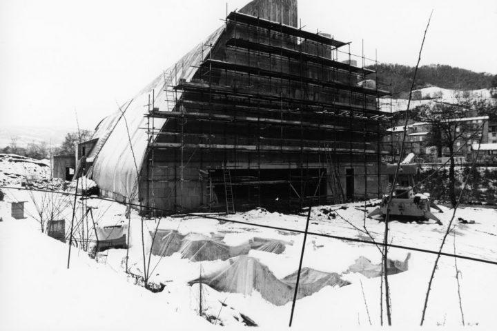 Construction, Riola Church and Parish Centre