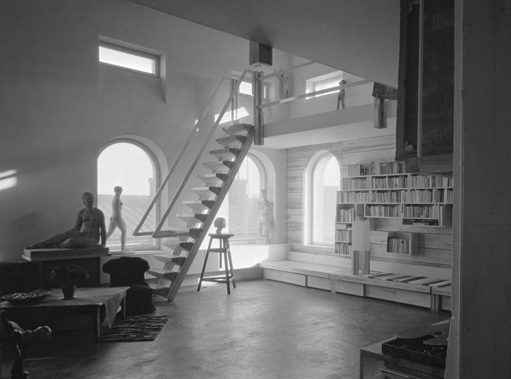 Atelier interior, Atelier Tove Jansson