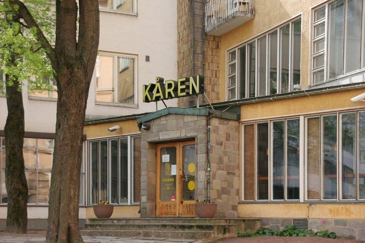 Dormitory main entrance, Kåren Student Union Building