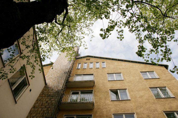 Façade detail, Kåren Student Union Building