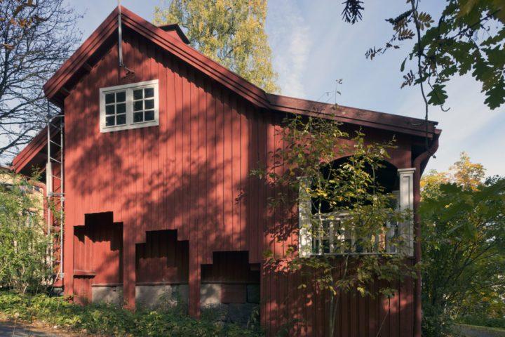 Facade, Villa Karpio