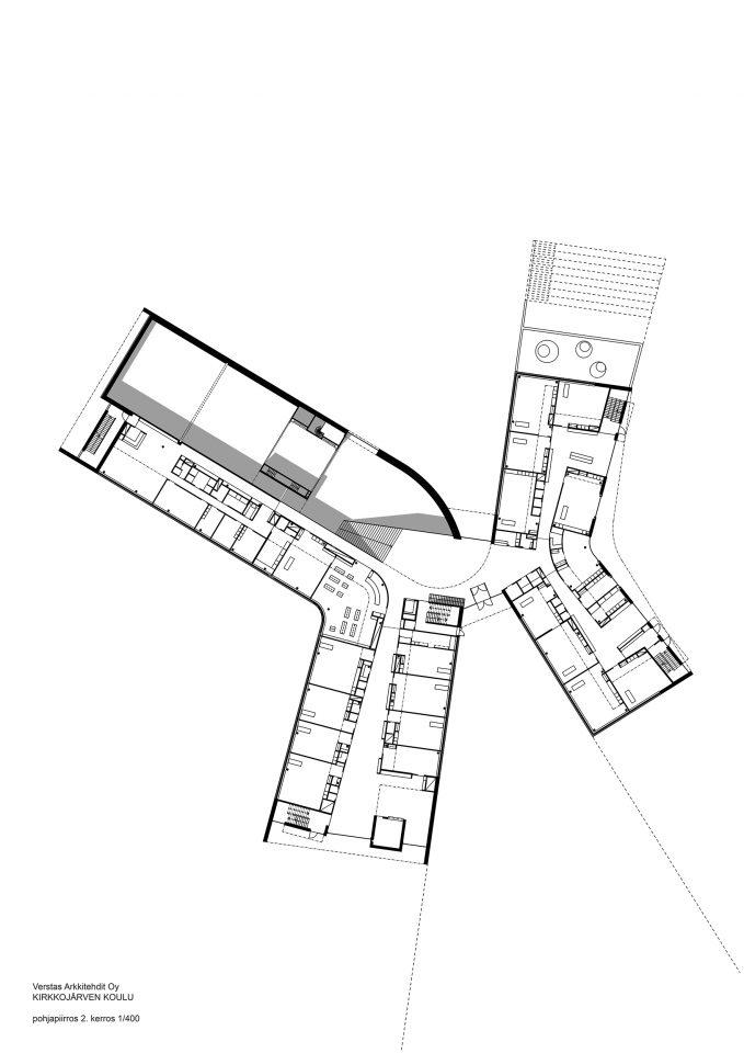 1st floor, Kirkkojärvi School
