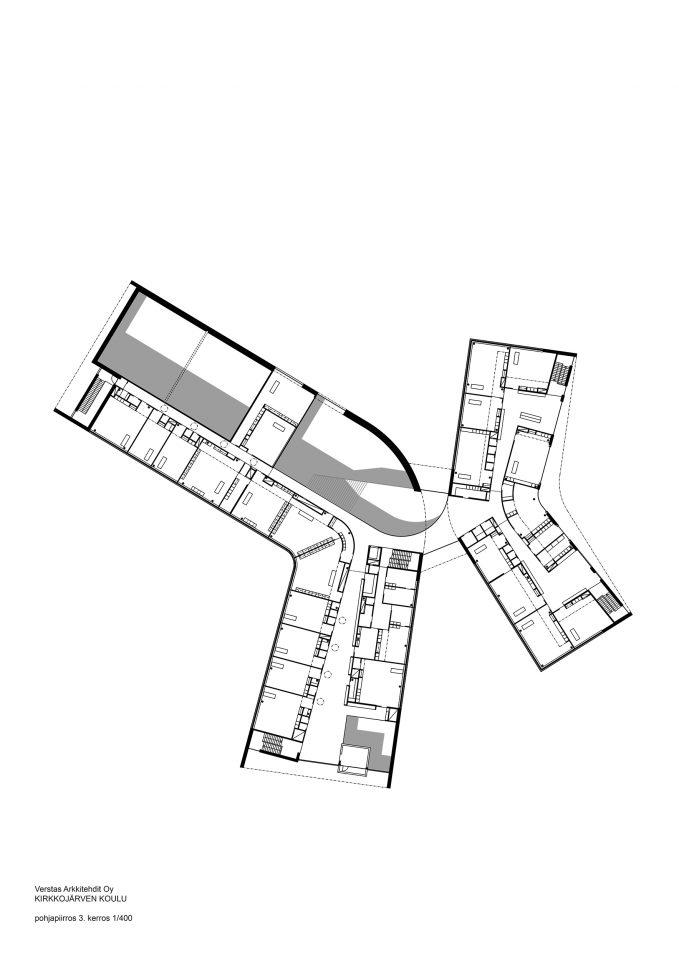 2nd floor, Kirkkojärvi School