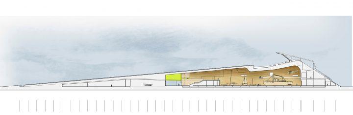 Section, Maritime Centre Vellamo