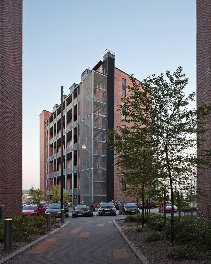 Gallery access side, Tila Loft Housing