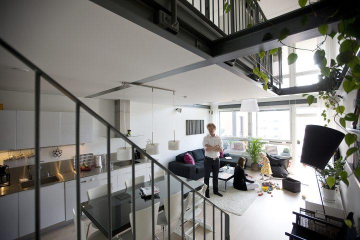 50 m2 unit after DIY works, Tila Loft Housing