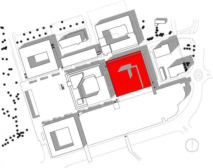 Site plan, Lappeenranta City Theatre