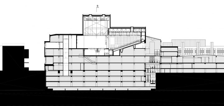 Section, Lappeenranta City Theatre
