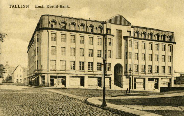 Postcard from the 1920s, Saarinen House