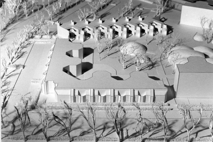 Competition scale model, Malminkartano Experimental Housing