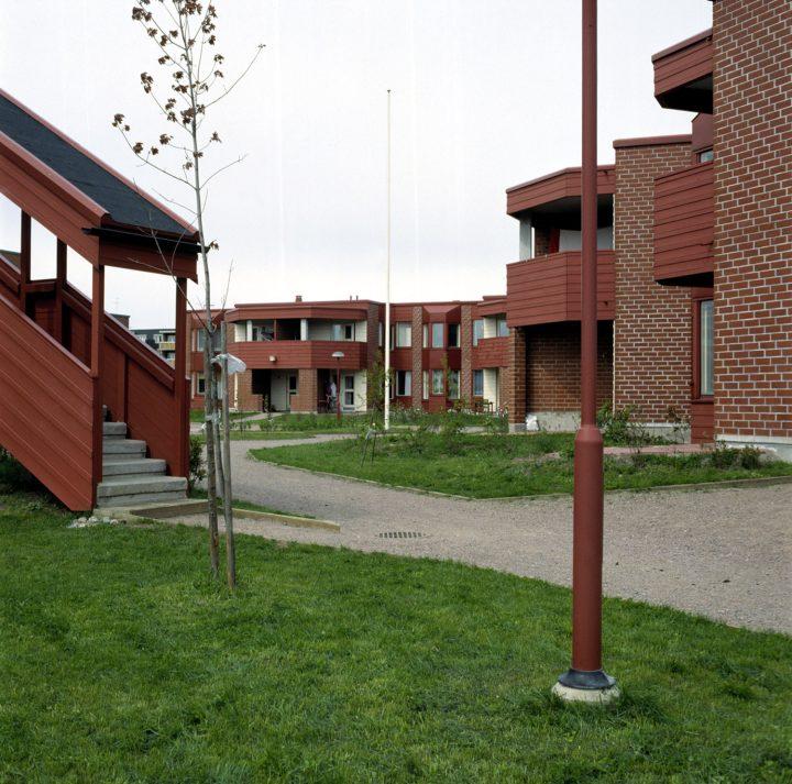 Courtyard , Malminkartano Experimental Housing