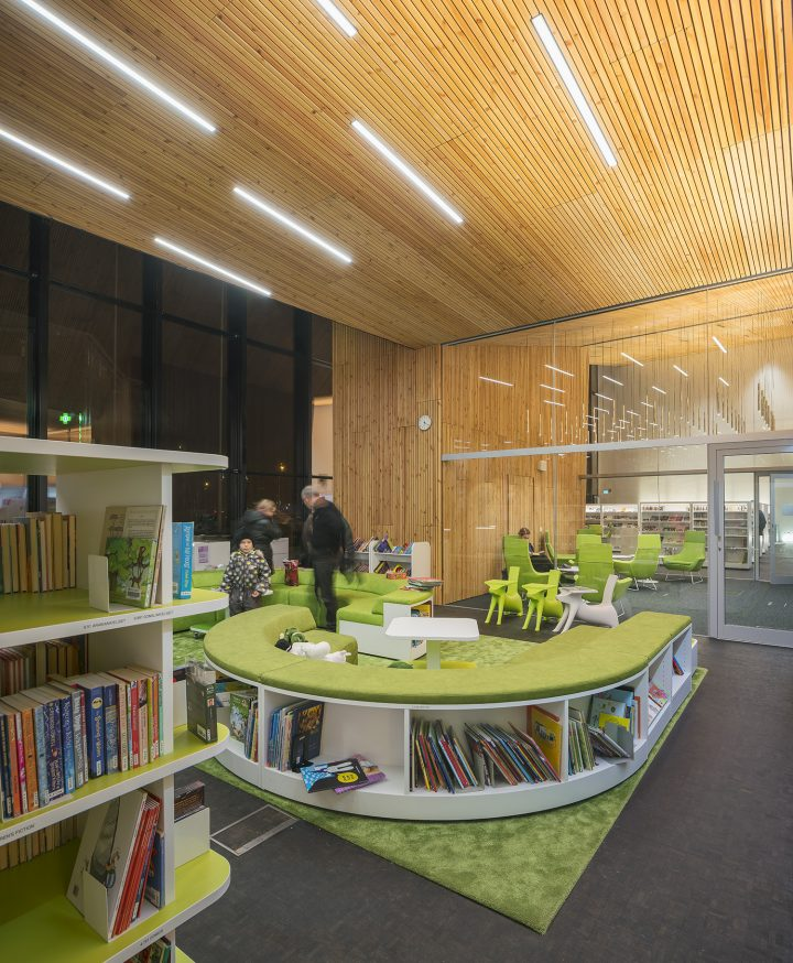 Children's section of the library, Maunula Community Centre