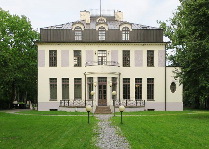 Garden side façade in 2017, Sakala Student Nation House