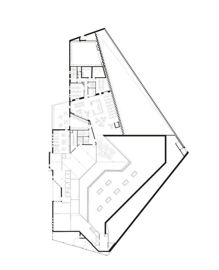 1st floor, Kirkkonummi Main Library Fyyri