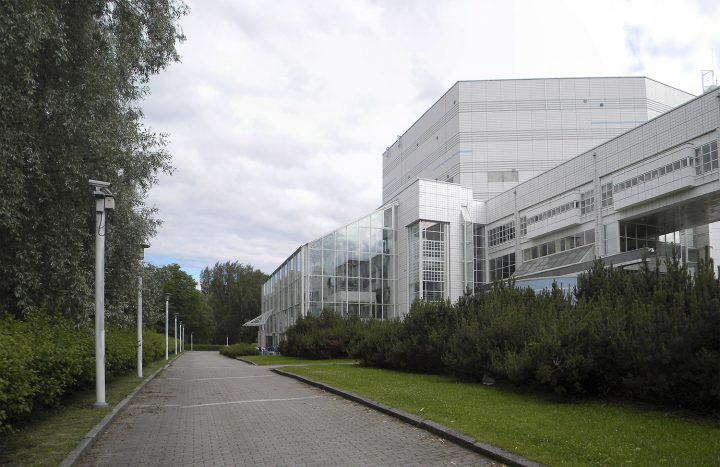 The northern façade, Tampere Hall