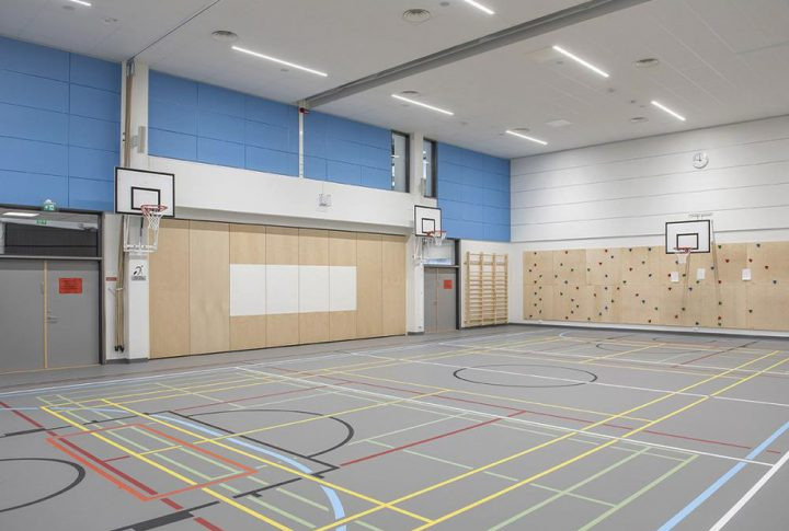The gymnasium, Rantakylä Normal School