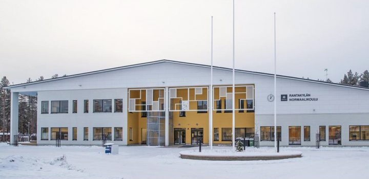 The main façade, Rantakylä Normal School