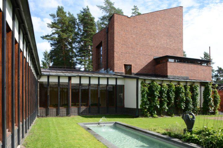 Inner courtyard, Säynätsalo Town Hall