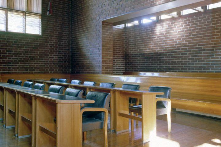 Council chamber, Säynätsalo Town Hall