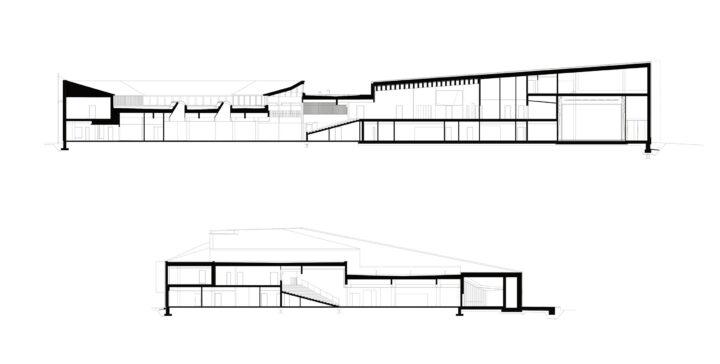 Sections, Kirkkonummi Main Library Fyyri
